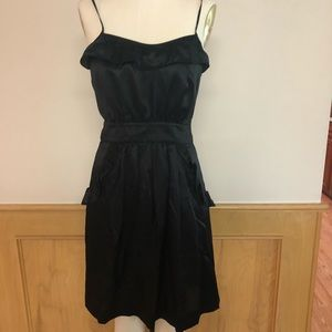 Marc by Marc Jacobs satin apron dress in size 6